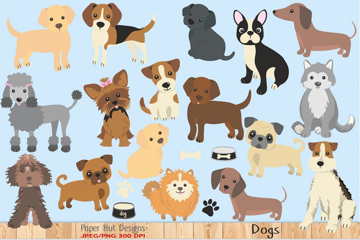 Dog Clipart example image 1