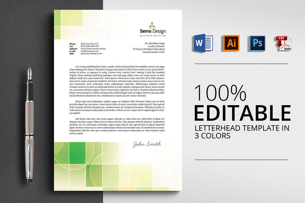 4 format letterhead design by designhub design bundles 4 format letterhead design example image spiritdancerdesigns Image collections