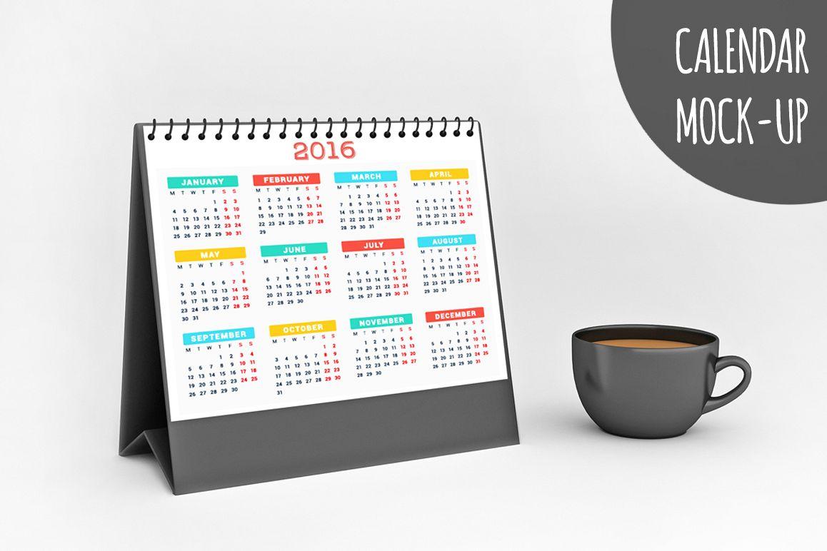Calendar Mock-up V1 example image 1