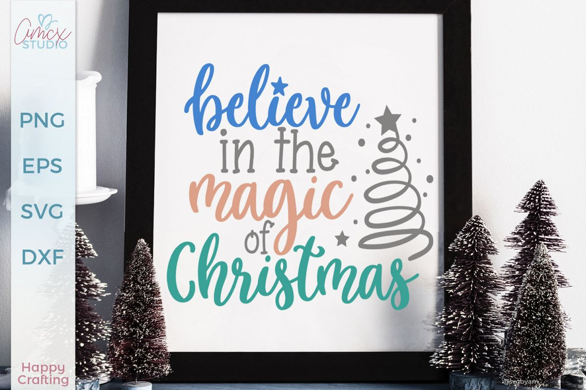 Believe in the Magic - Christmas Craft File example image 1