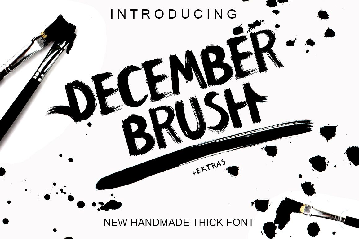 December Brush And Extras example image 1