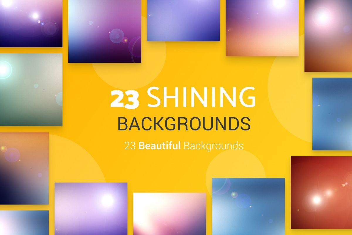 23 Shining Backgrounds example image 1