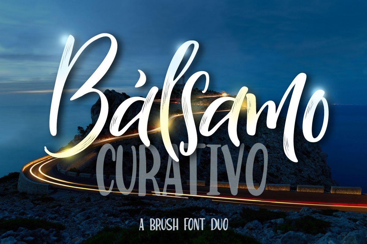 Bálsamo Curativo - Font Dou example image 1