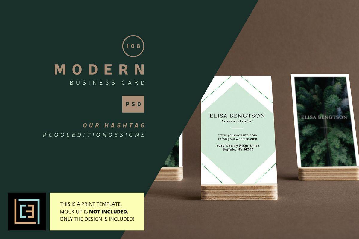 Modern Business Card Bc0108