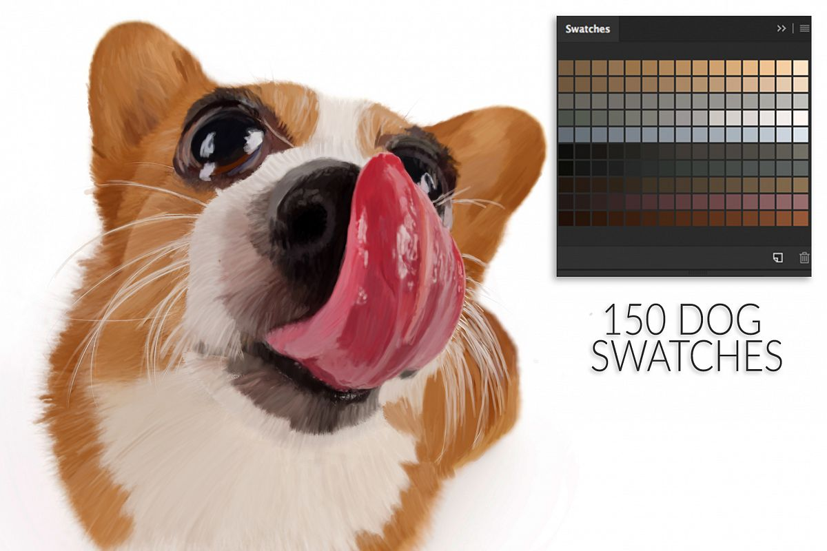 Dog Swatches example image 1