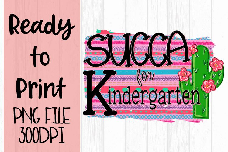 Succa for Kindergarten Ready to Print example image 1
