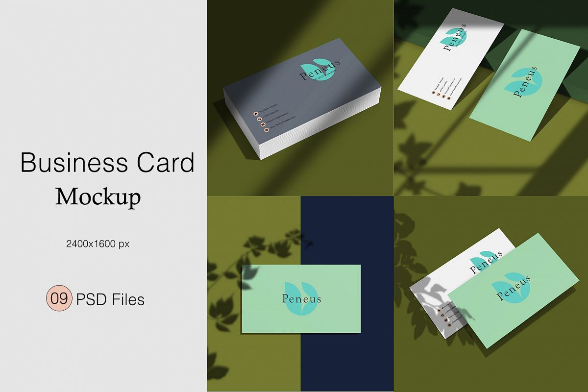 Businesscard Mockups example image 1