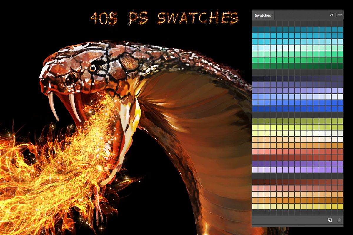 Snake Swatches example image 1