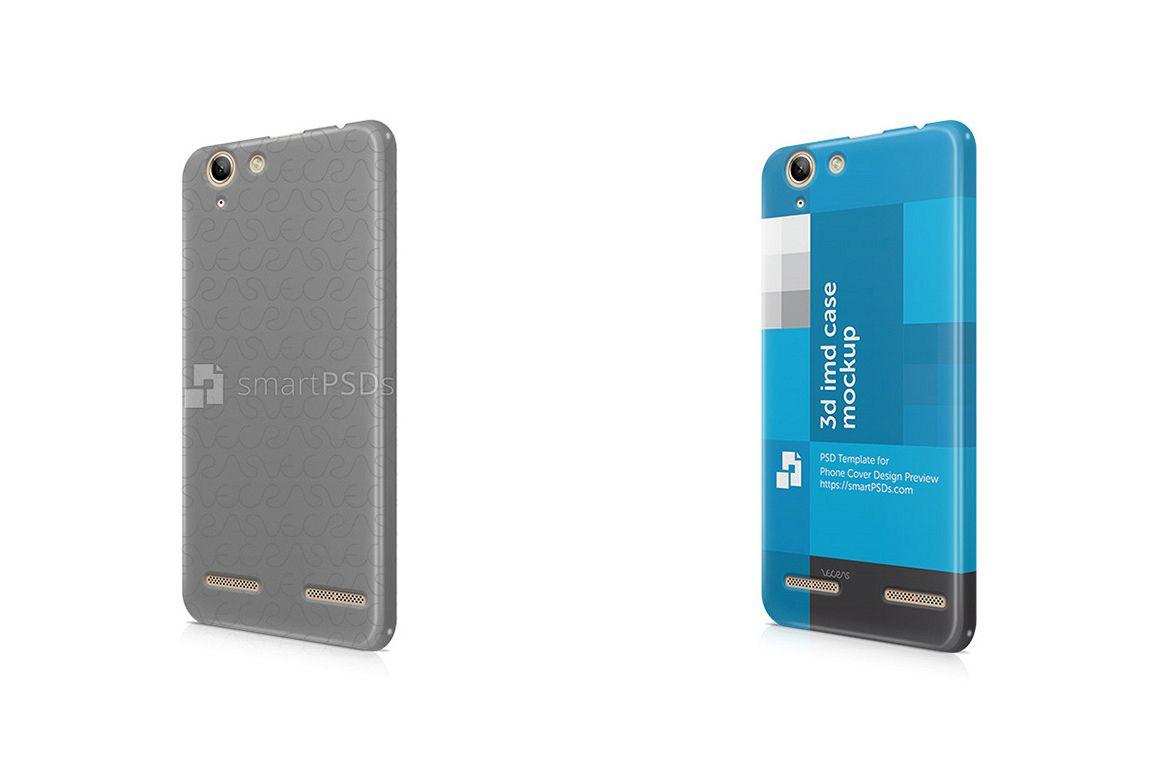Lenovo Vibe K5 Plus 3d IMD Mobile Case Design Mockup 2016 example image 1