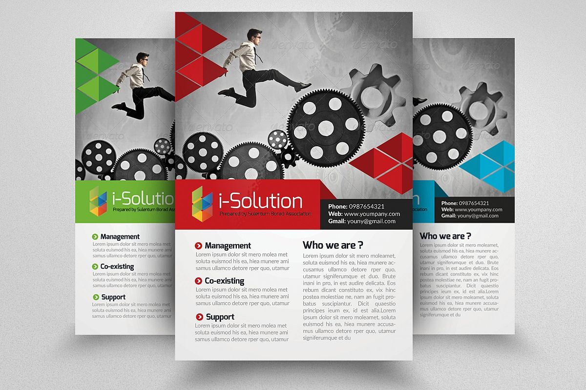 Business Motivation Flyer Template example image 1