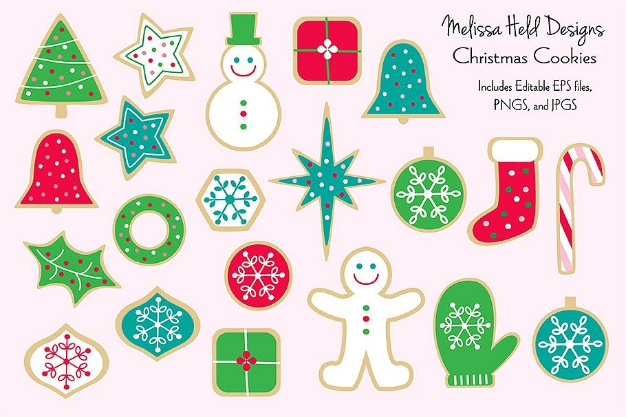 Christmas Cookies Clipart.Christmas Cookies Clipart Graphics