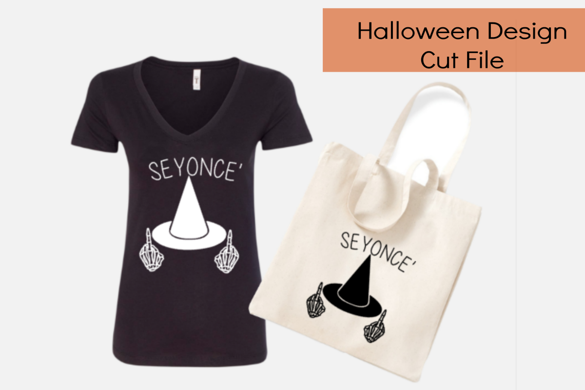Seyonce halloween cut file/ tshirts/ vinyl/ print out example image 1