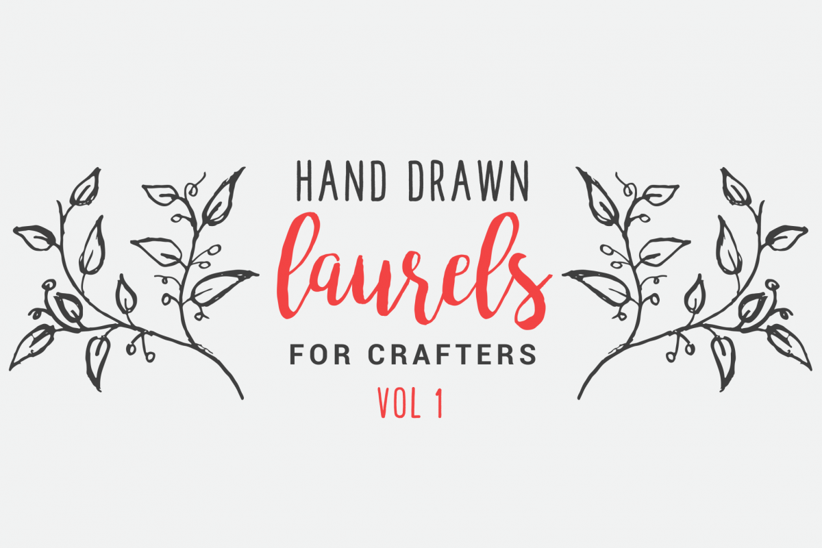 Hand Drawn Laurels for Crafters Vol 1 example image 1