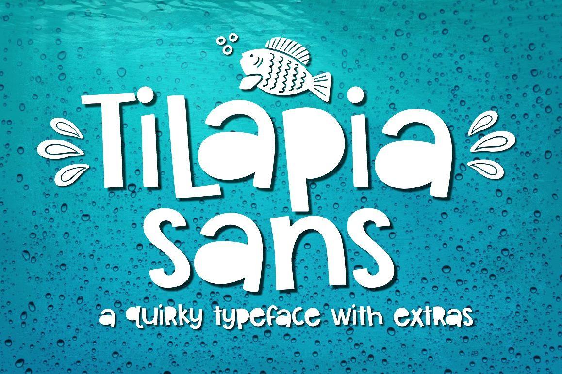 Tilapia Sans example image 1