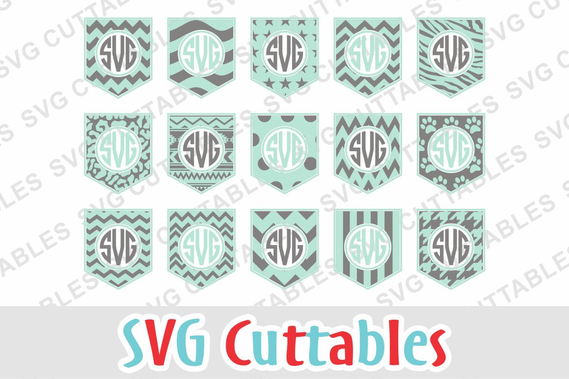 Pocket Monogram Frames example image 1
