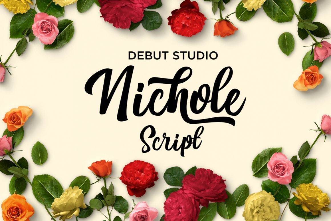 Nichole Script example image 1