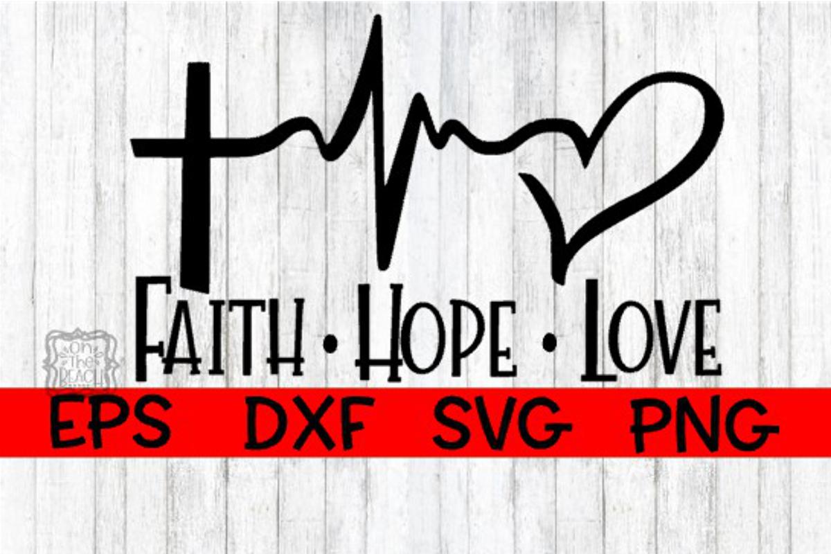 Download Faith Hope Love - Cutting Design (192192) | SVGs | Design ...