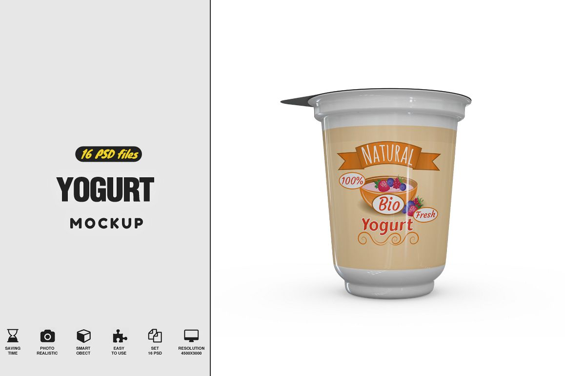 Yogurt Mockup example image 1