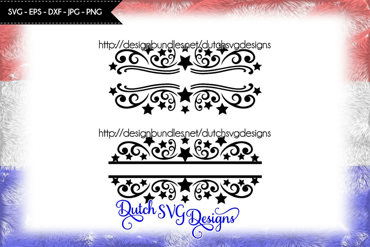 2 Split monogram cutting files, christmas svg, monogram svg example image 1