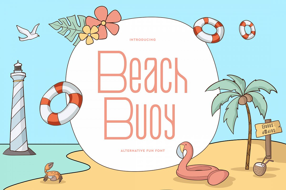 Beach Buoy + Bonus Illustrations example image 1