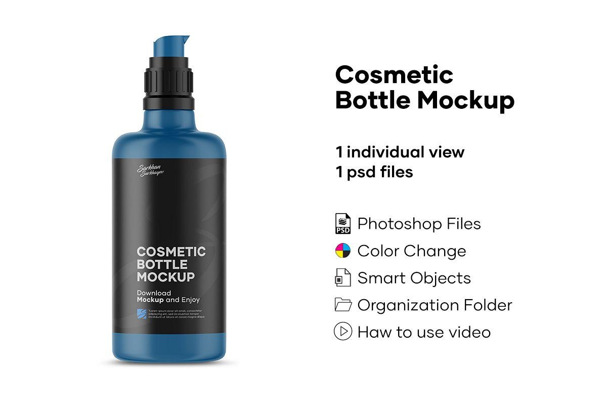 Cosmetic Bottle Mockup example image 1