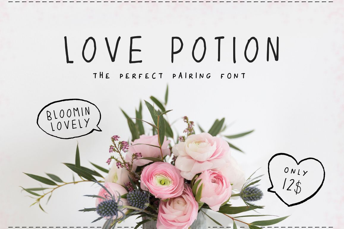 Love Potion Font example image 1