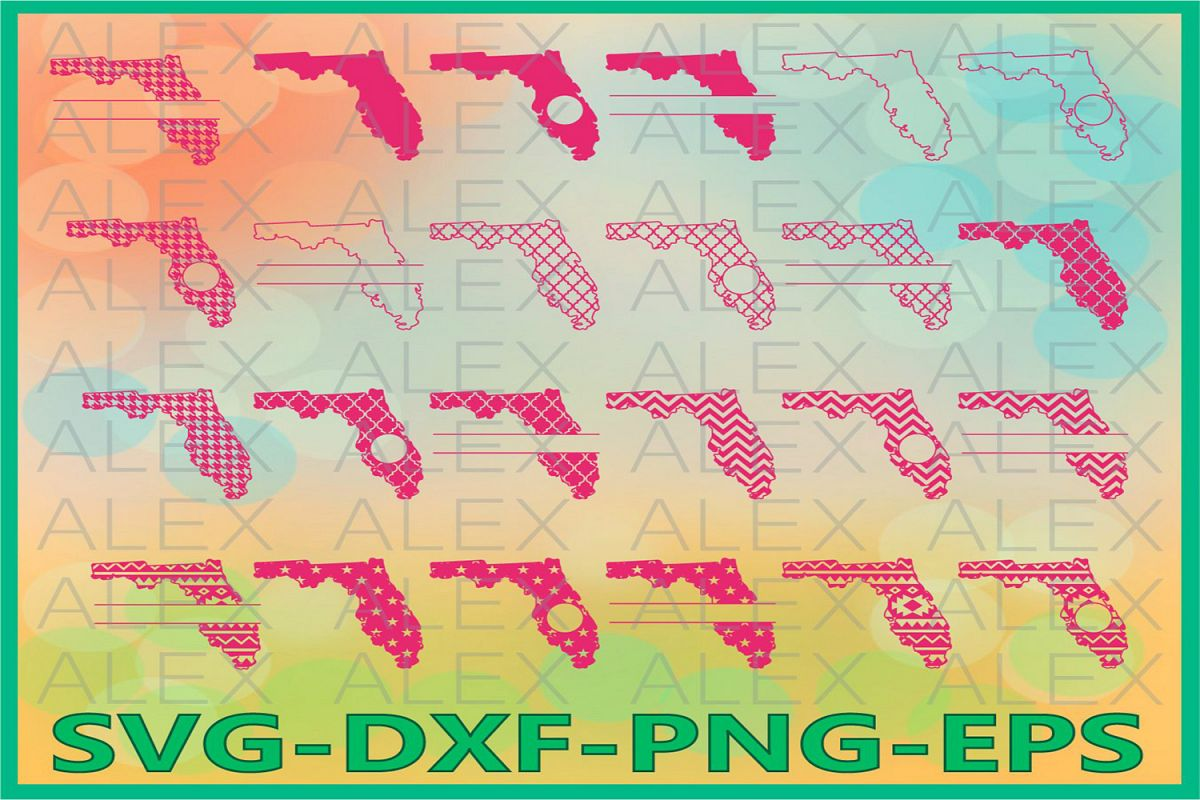 Florida State SVG, Florida SVG files for Cricut, Florida Svg example image 1