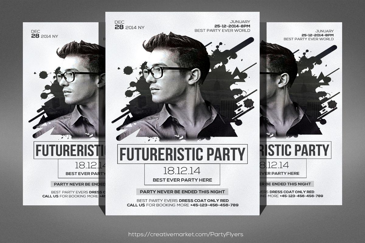 DJ Flyer by Business Templates   Design Bundles