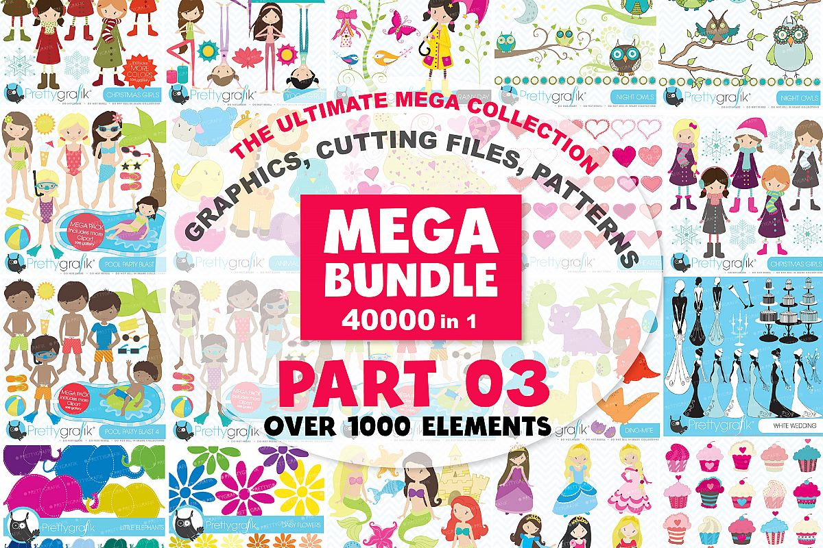 MEGA BUNDLE PART03 - 40000 in 1 Full Collection example image 1