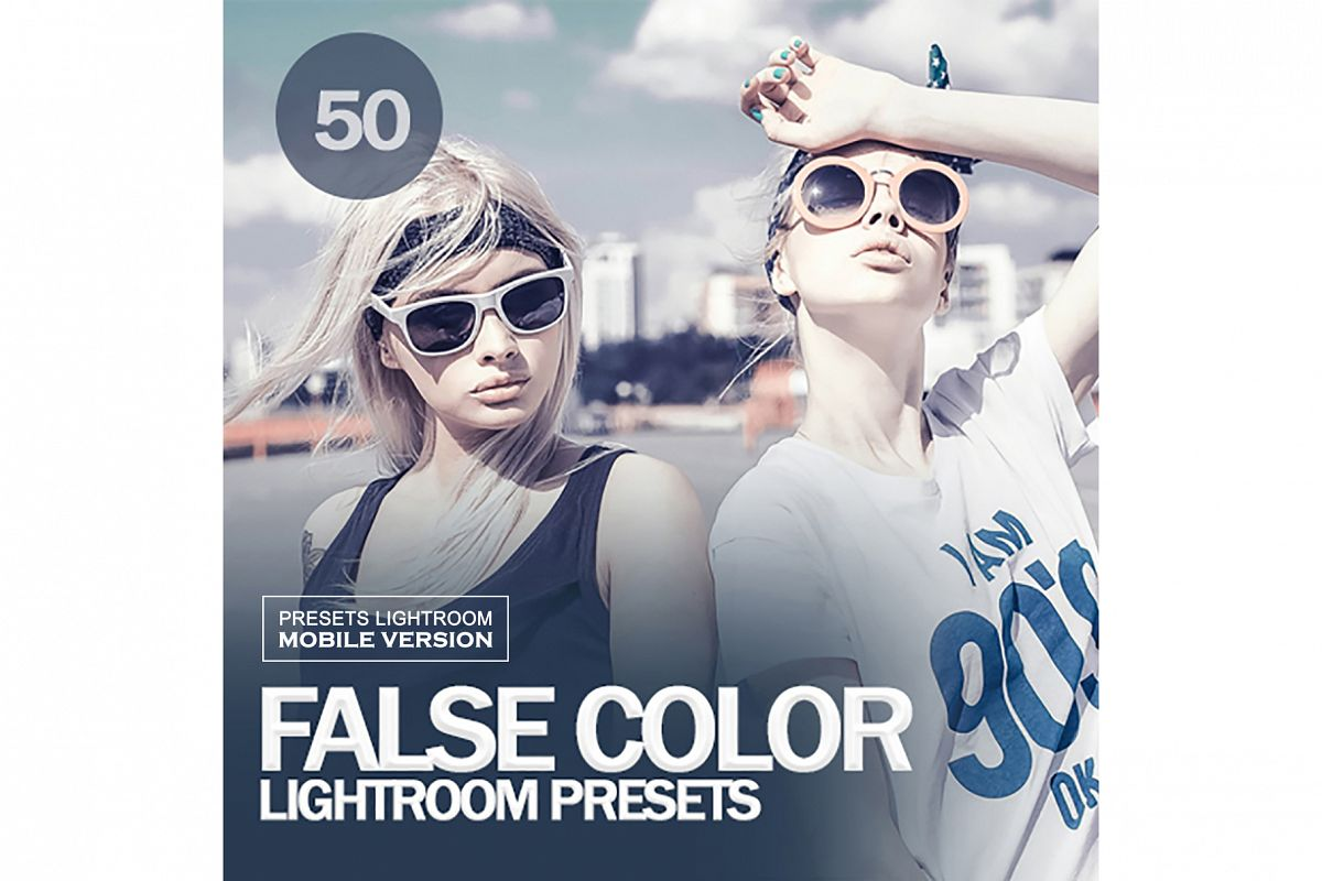 False Color Lightroom Mobile Presets example image 1