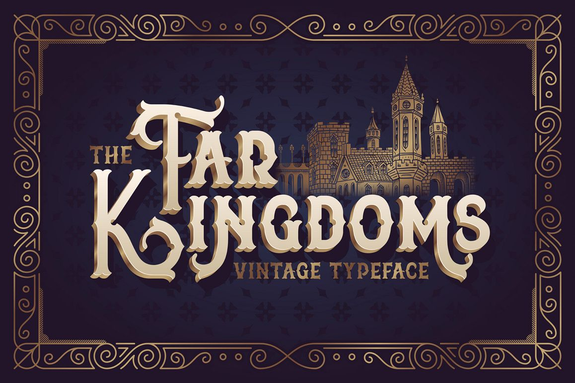 The Far Kingdoms font example image 1
