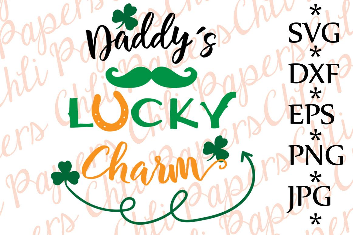 Daddy's lucky Charm Svg example image 1