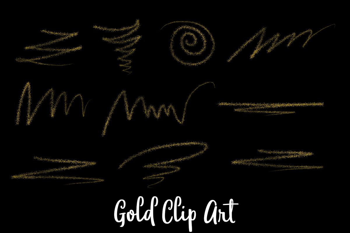 Gold Logo Clipart, Transparent PNG example image 1