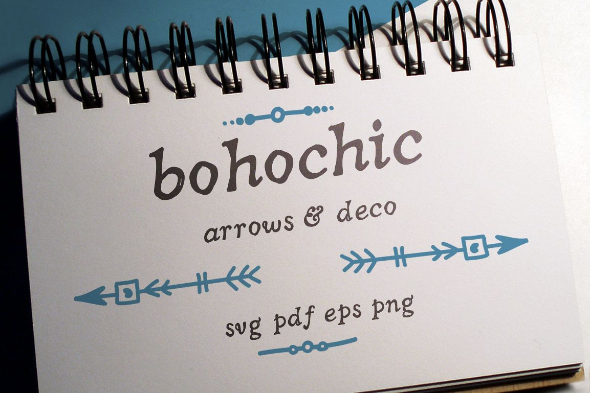 Boho-Chic Arrows & Deco Vectors example image 1