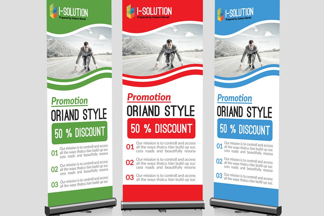 Business Start Roll Up Banners example image 1