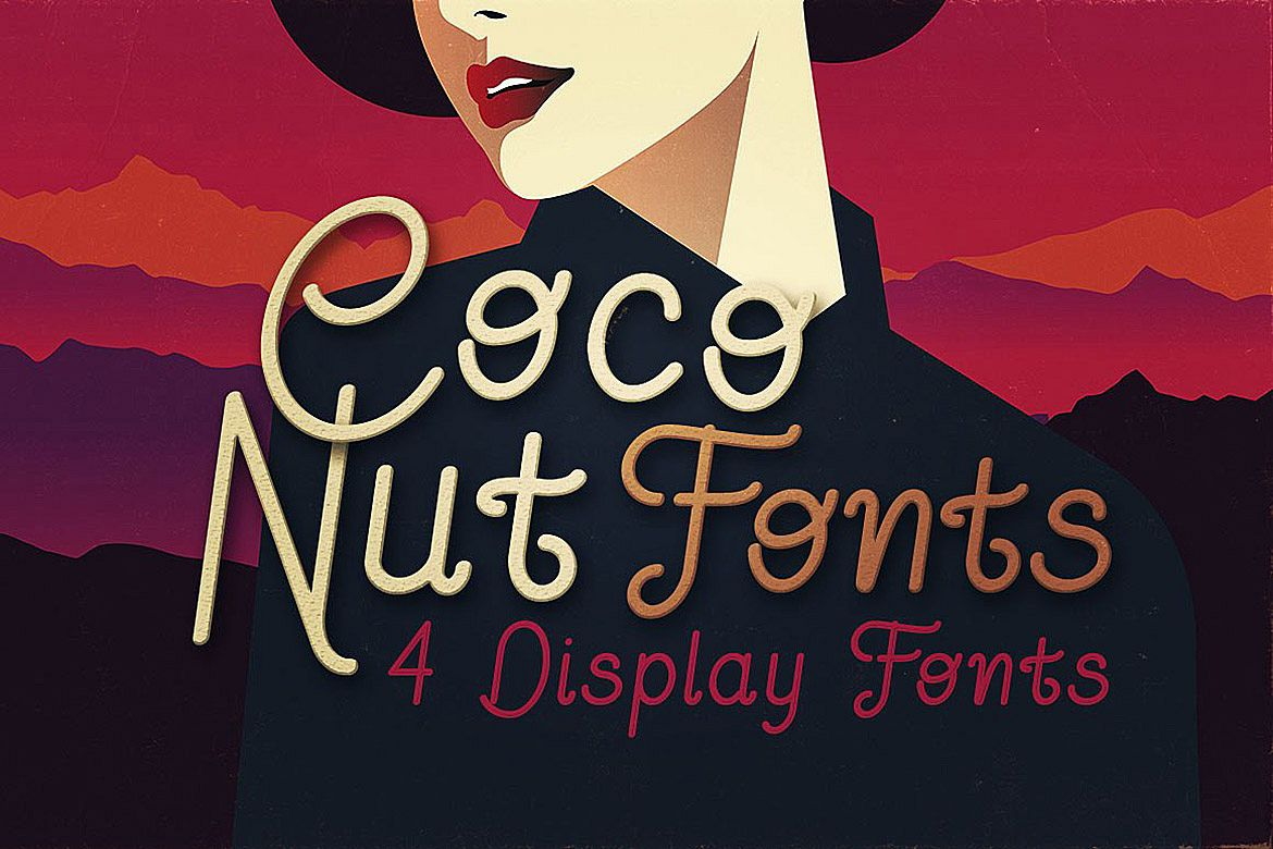 Coconut - Display Font example image 1