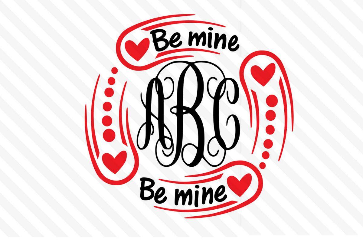 Monogram ,LOVE,Valentine day,Cricut,Silhouette,couple ,Font example image 1