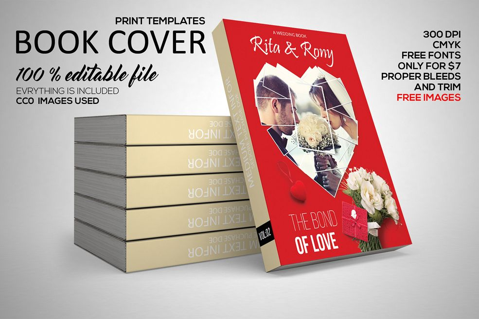 Love Story Book Cover example image 1