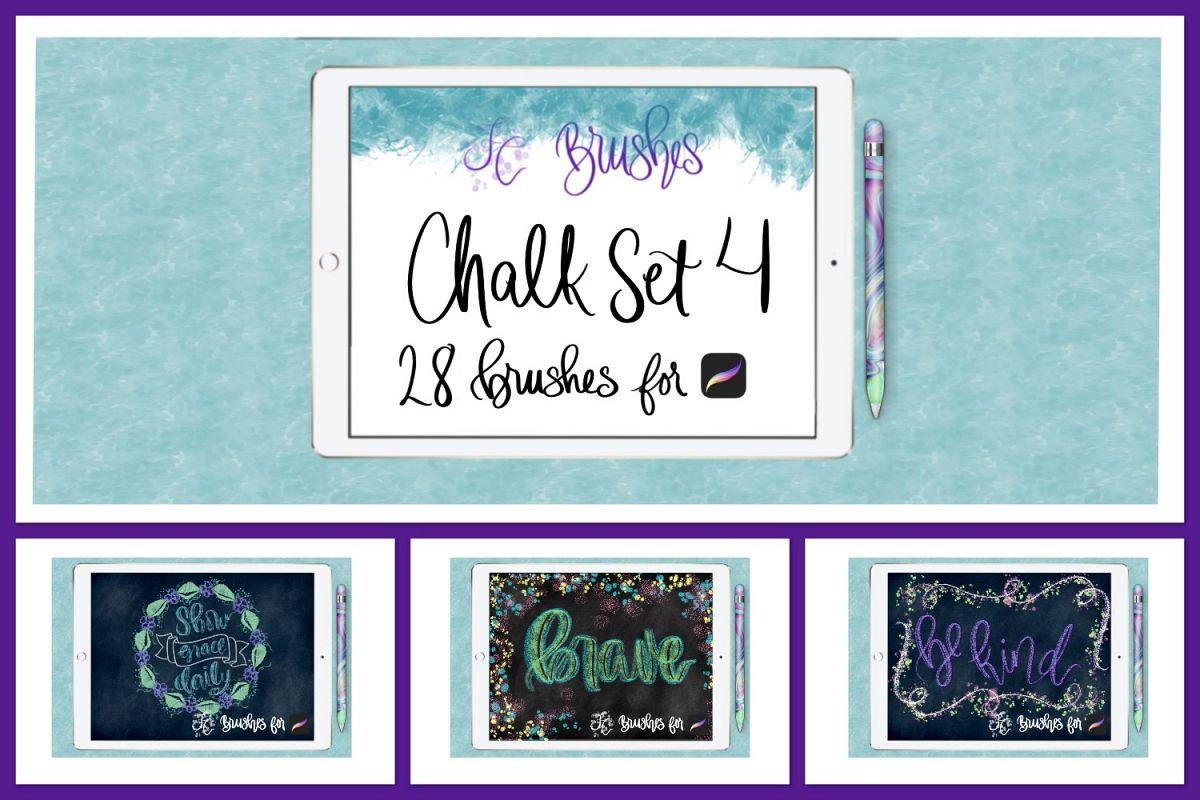 FC-chalk-set 4for PROCREATE example image 1