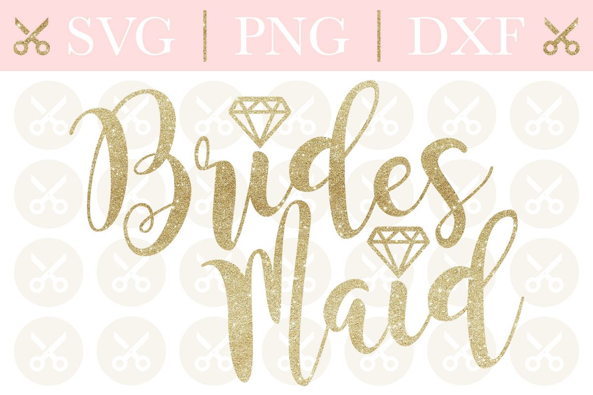 Bridesmaid Svg Wedding Svg Engagement Svg Bachelorette Svg example image 1