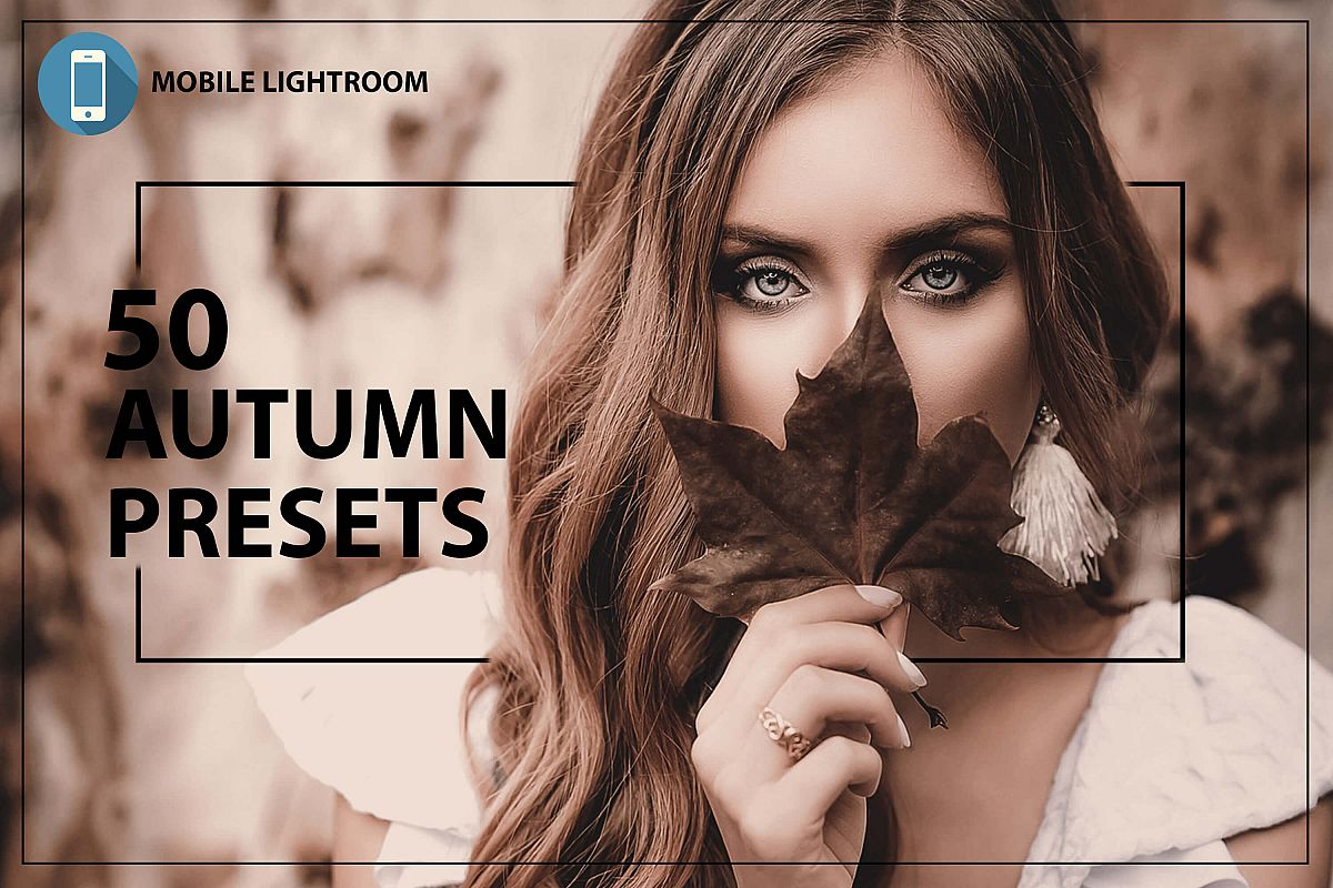 50 Autumn Mobile Lightroom Presets example image 1