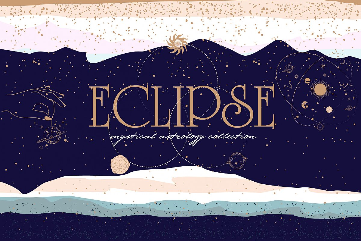 Eclipse / mystical & astrology example image 1