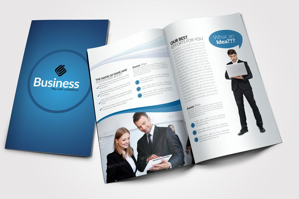 Business Dealing Bifold Brochure example image 1