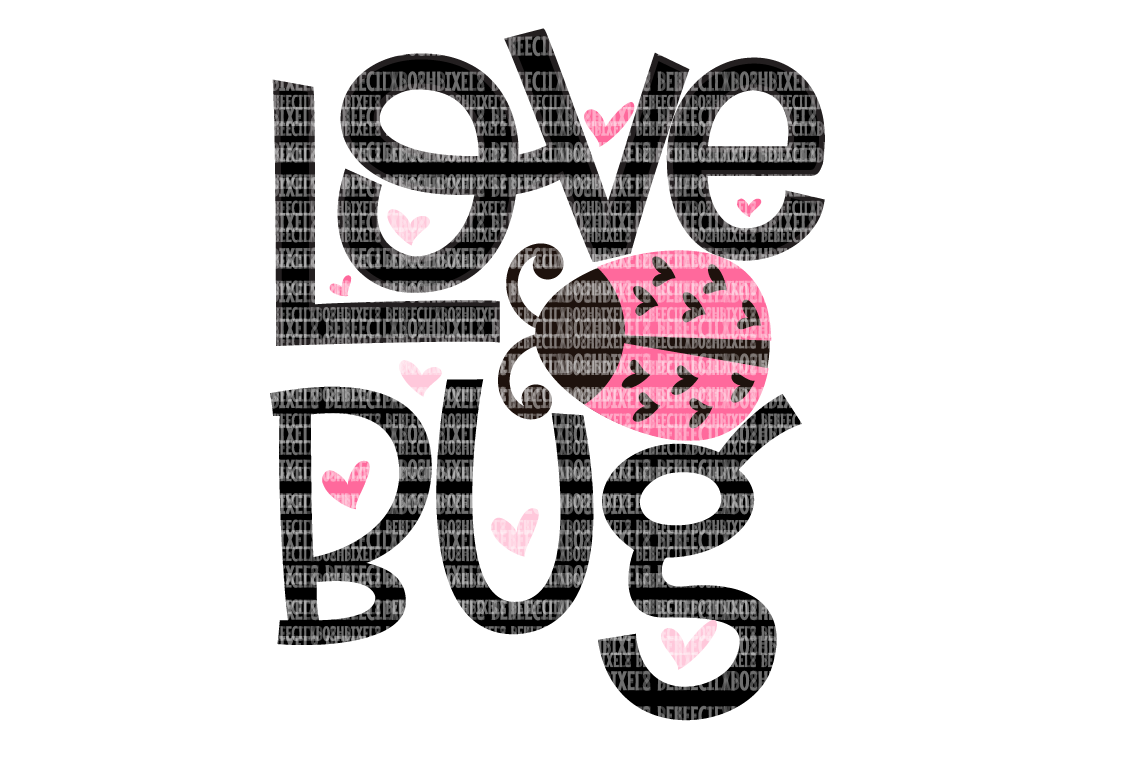 Download Love Bug Valentine's SVG Files for Cricut Design Space and ...
