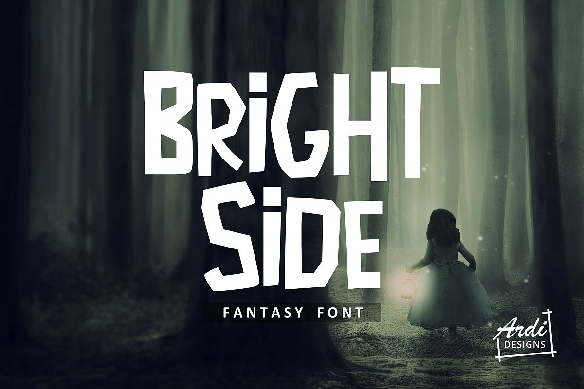 Bright Side font example image 1