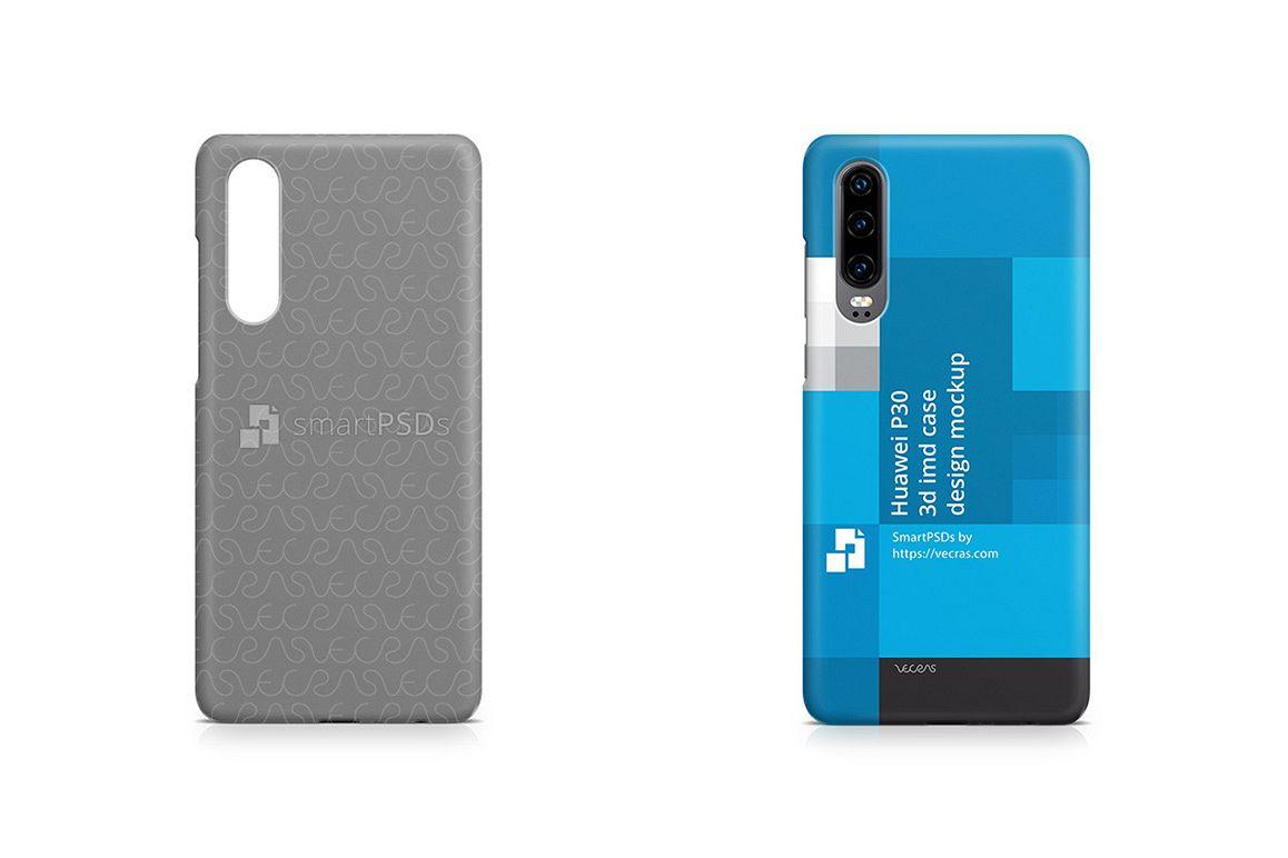 Huawei P30 3d IMD Case Design Mockup 2019 example image 1