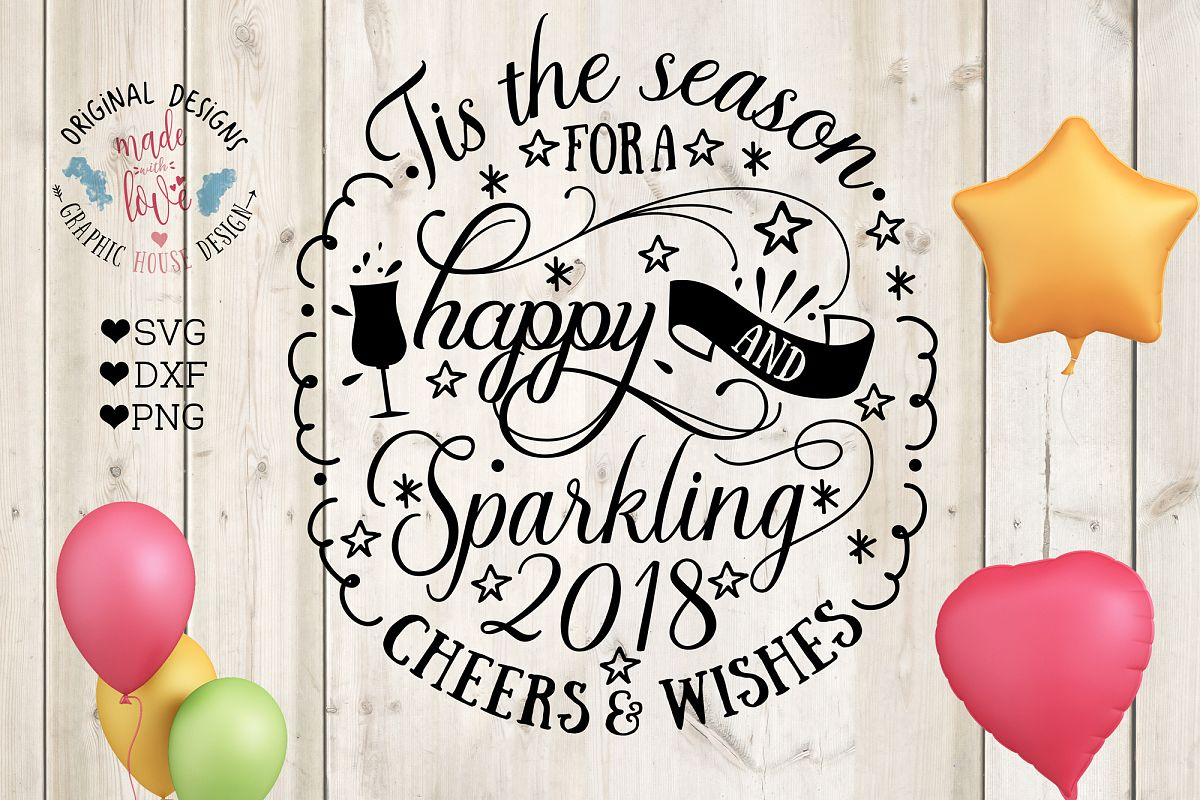 Tis the season for a happy and sparkling 2018 example image 1