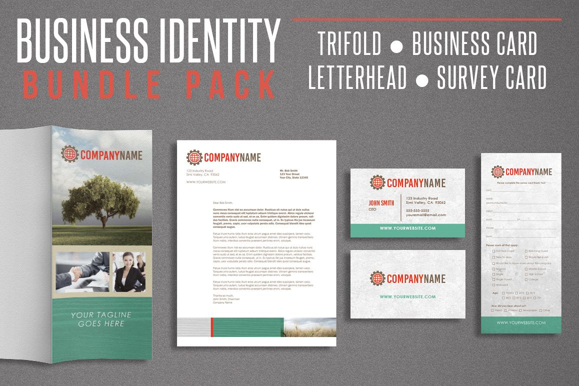 Business Identity Bundle Pack example image 1