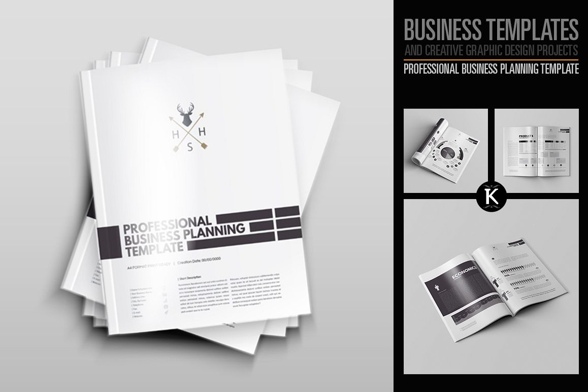 Professional Business Planning Template example image 1