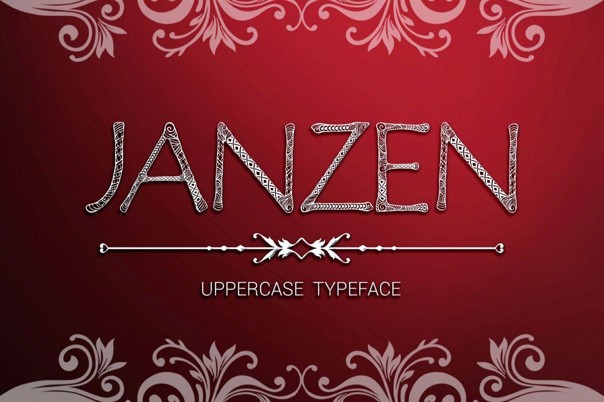 Janzen font example image 1